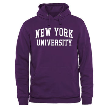NYU Violets Purple Everyday Pullover Hoodie