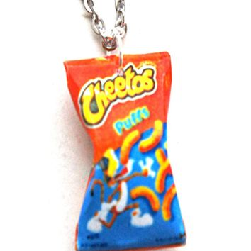 Cheetos Puffs Necklace