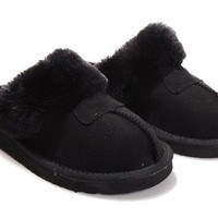 UGG Coquette Slippers 5125 Black Outlet UK