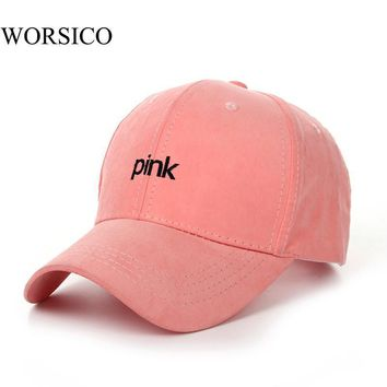 2017 Fashion Brand Summer Snapback Baseball Cap Women Hip Hop Caps Suede Hats for Ladi