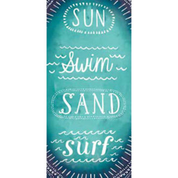 Walmart: Mainstays Beach Towel, Sun Swim Sand