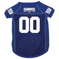 New York Giants Deluxe Dog Jersey - Extra Large