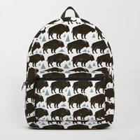 Follow The Herd Backpacks by Heather Dutton