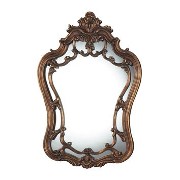 Sandyford Mirror Antique Gold Leaf