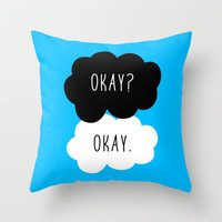 Okay? Okay. The Fault in Our Stars Throw Pillow