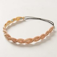 Ropy Headband by Anthropologie Peach One Size Hair