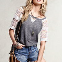 Crochet Baseball Sweatshirt - Victoria's Secret