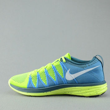 NFL2009 - Nike Flyknit Lunar Two (Lime Green)