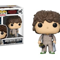 Ghostbuster Dustin Funko Pop! Television Stranger Things