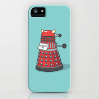 Exterminate Me (Dr Who) iPhone & iPod Case by See Mike Draw