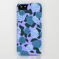 Roses iPhone & iPod Case by Ornaart
