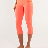 wunder under crop *silver | women's crops | lululemon athletica
