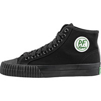 PF Flyer Center Hi Canvas (Mens) - Black/Black