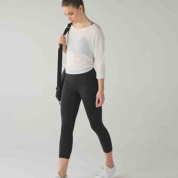 wunder under crop hi-rise *fullux | women's crops | lululemon athletica