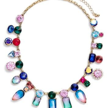 kate spade new york 'color crush' statement necklace | Nordstrom