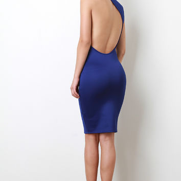 Side Back Scoop Dress