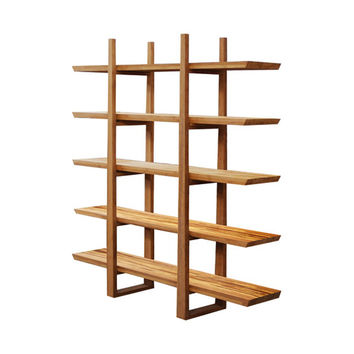 Bamboo Shelf with Tiger Inlay