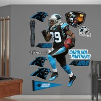 Fathead Carolina Panthers Steve Smith Wall Decals