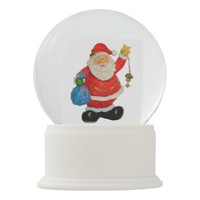 Santa Claus Father Christmas Kris Kringle Snow Globe