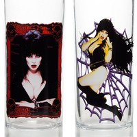KREEPSVILLE 666 ELVIRA GLASS SET