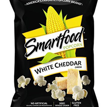 Smartfood Popcorn, White Cheddar, 9 Ounce