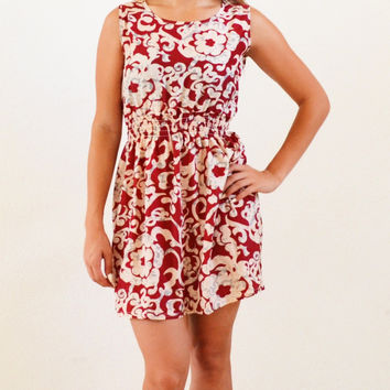 Sandy Sleevelss Summer Mini Dress