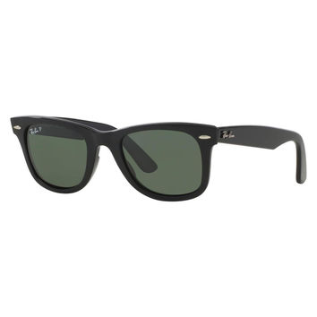 Ray Ban Wayfarer Sunglass Black Polarized RB 2140 901/58