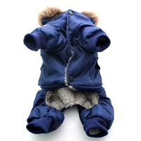 Dog Pet warm  Coat Jacket USA AIR FORCE Waterproof Puppy hoody clothes dogs cats kitten puppy thick clothes animal hoodies