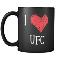 UFC I Love UFC 11oz Black Mug
