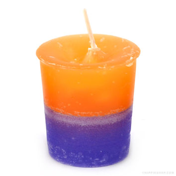 Double Scented Votive Candle Jasmine/Sunflower on Sale for $2.99 at The Hippie Shop