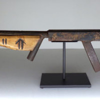 Primitive Sculpture - Rifle ART Q-M 2011 Contemporary Art