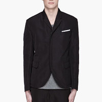 Neil Barrett Black Blazer-style Windbreaker for men | SSENSE