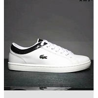Lacoste Men's Leather Fashion Sneakers Shoes I-SSRS-CJZX