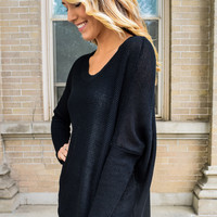 Coffee Shop Sweater Black