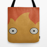 Howl's Moving Castle Poster Tote Bag by Misery