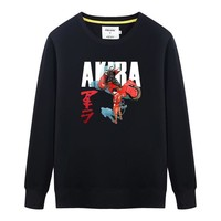 Anime AKIRA Print Mens Sweatshirt Pullover Hoodies Men Women Fashion Cotton O-neck Long-sleeve Tracksuits