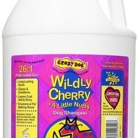 Crazy Dog Wild Cherry Shampoo 1 Gallon