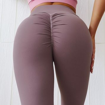 Fitness Leggings Women High Waist Leggins Mujer Solid Push Up Workout Jeggings Casual Women Patchwork Leggings