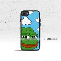Pepe The Frog Meme Case Cover for Apple iPhone & iPod Touch