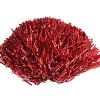 SEWS Party Costume Sports Cheerleader Party Favors Flower Ball Pom Poms Hot New Red