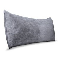 Room Essentials™ Body Pillow Cover - Gray : Target