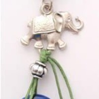Evil Eye Car Decoration/key Chain with Elephant