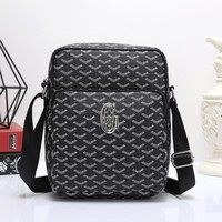 Goyard Women Men Shopping Bag Leather Satchel Shoulder Bag Crossbody