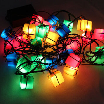 new year Latest LED christmas decoration Light,90g christmas outdoor candy decoration supplies String lights natal,Free shipping