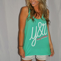 YOUNG & RECKLESS MINT Y&R TANK