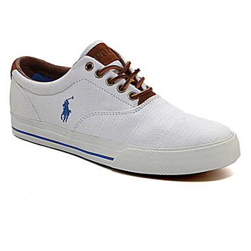 Polo Ralph Lauren Men's Vaughn Casual Sneakers - White