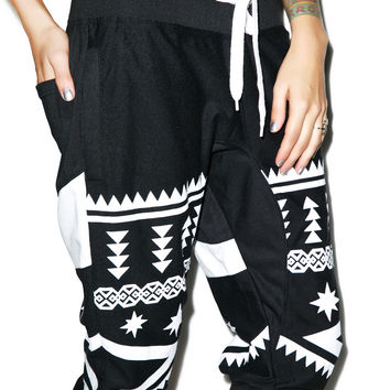 Retro Distrikt Just Jog Shorts Black/White