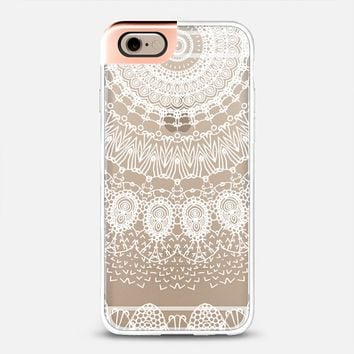 BOHO WHITE LACE by Monika Strigel iPhone 6 case by Monika Strigel | Casetify