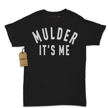 Mulder It's Me X-Files Womens T-shirt