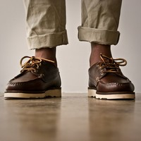 Oak Street Bootmakers | Brown Vibram Sole Trail Oxford